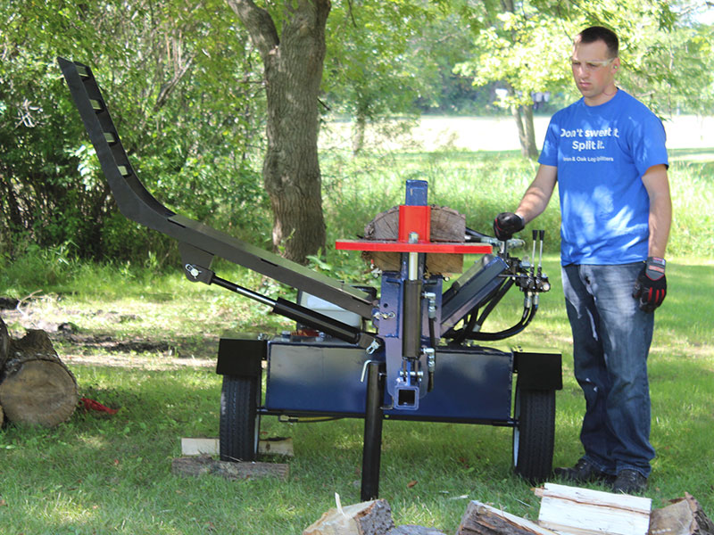 Commercial Firewood Splitter Bhh4013gx30 Iron And Oak