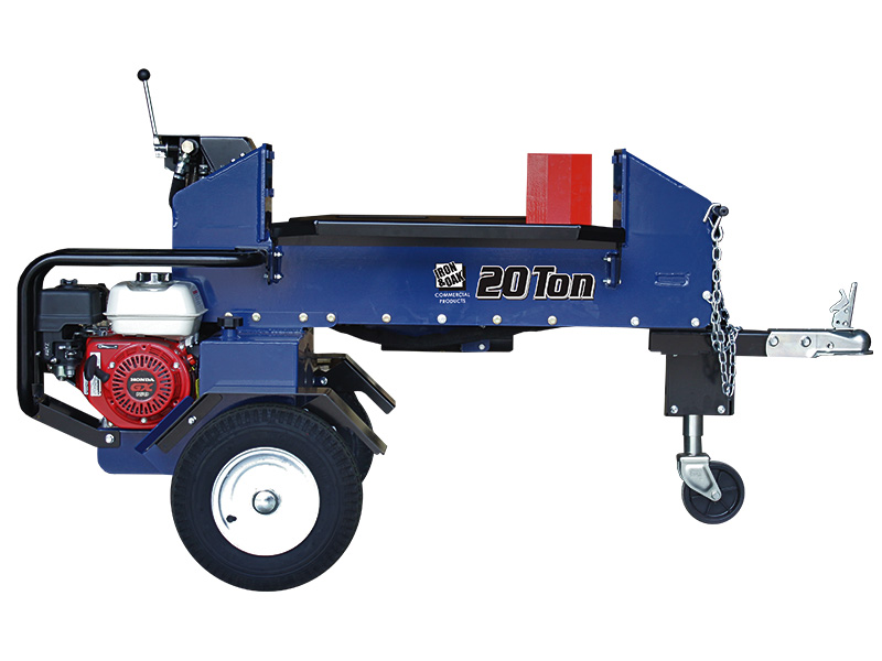 20 ton two way log splitter