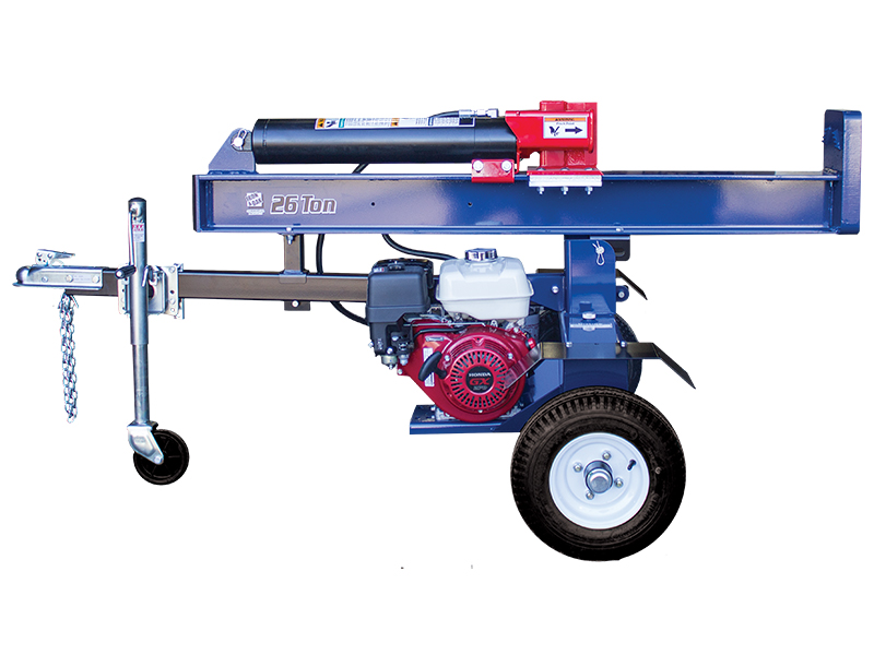 26 ton log splitter